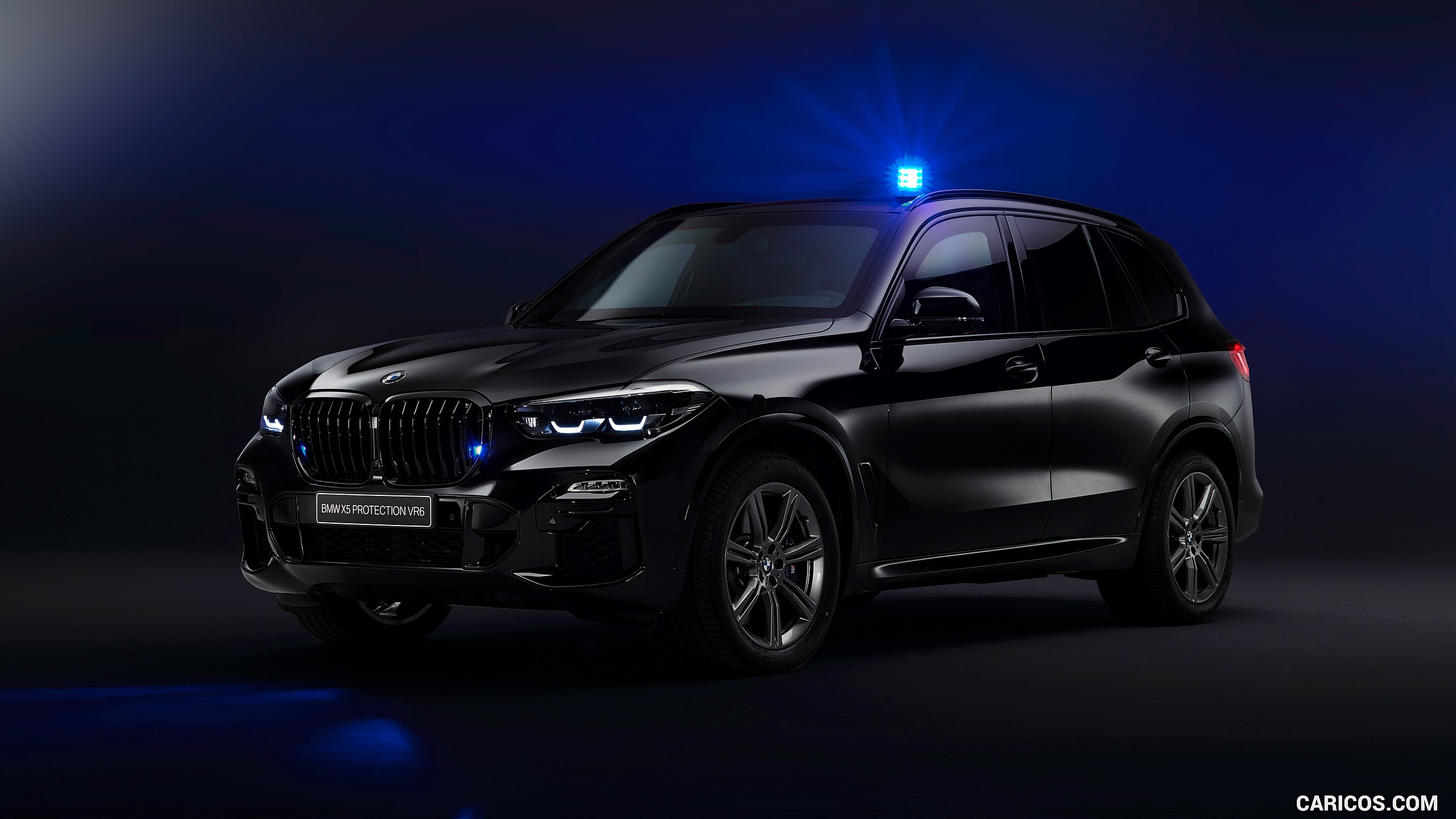 2020 BMW X5 Protection VR6 Armored Vehicle   Front Three Quarter 2560x1440