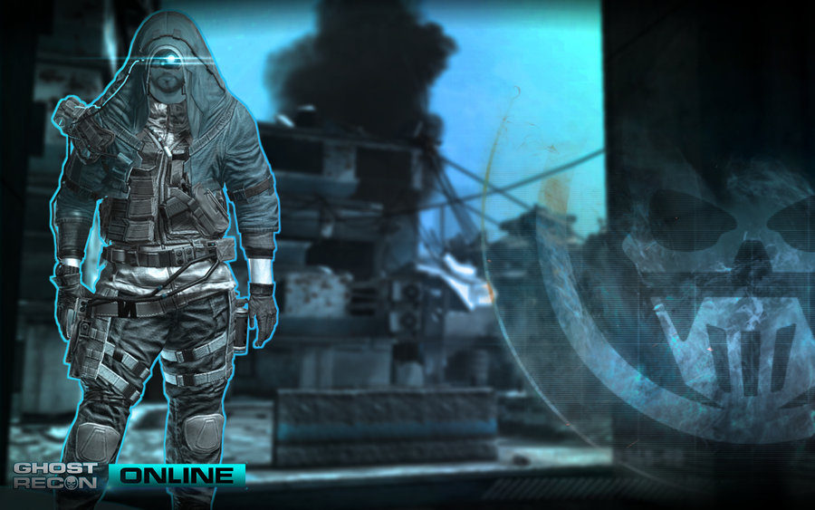 New Wallpapers of Ghost Recon ONLINE by neonkiler99 900x563