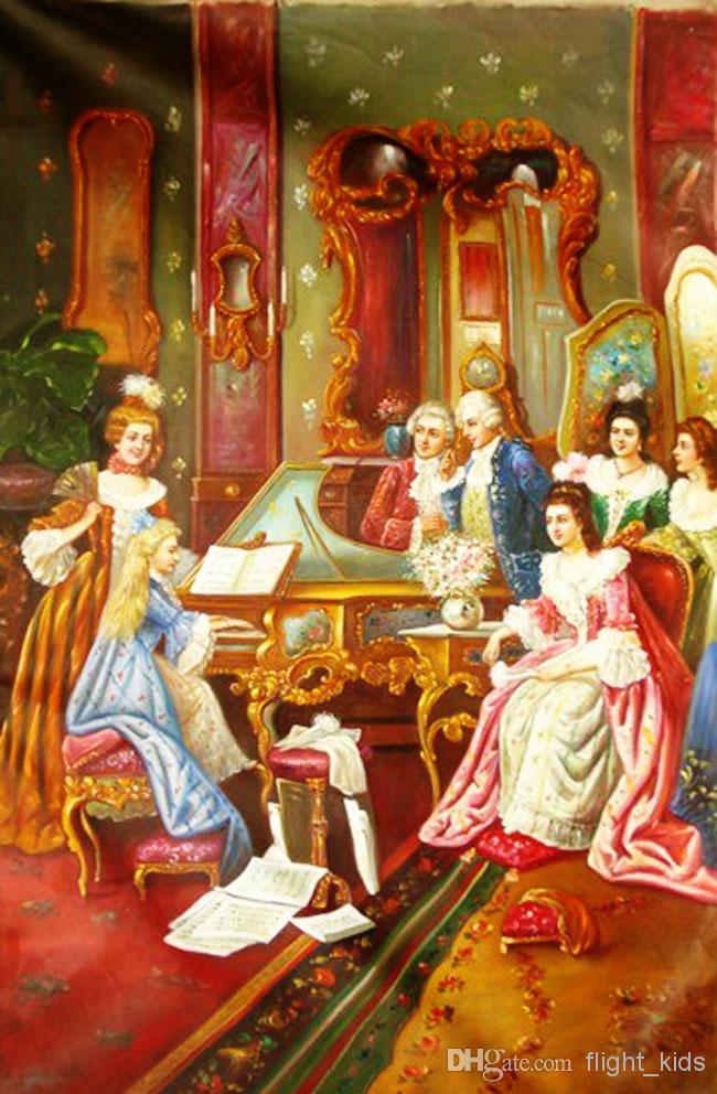 Cheap Oil Paintings Art Pictures Paint On Canvas European Classic 650x992