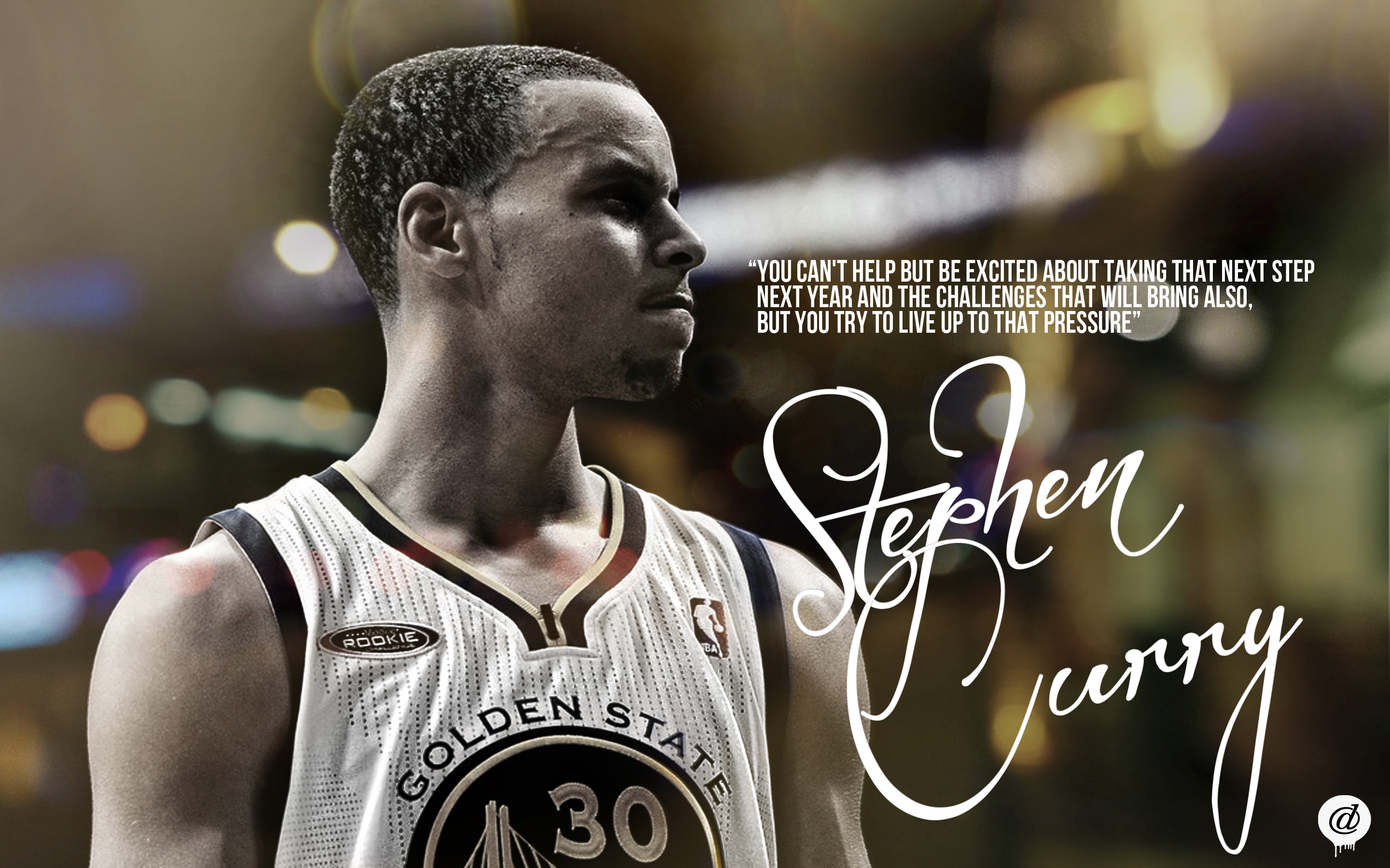StephenCurryGoldenStateWarriorsWallpaper by 31ANDONLY on 2880x1800
