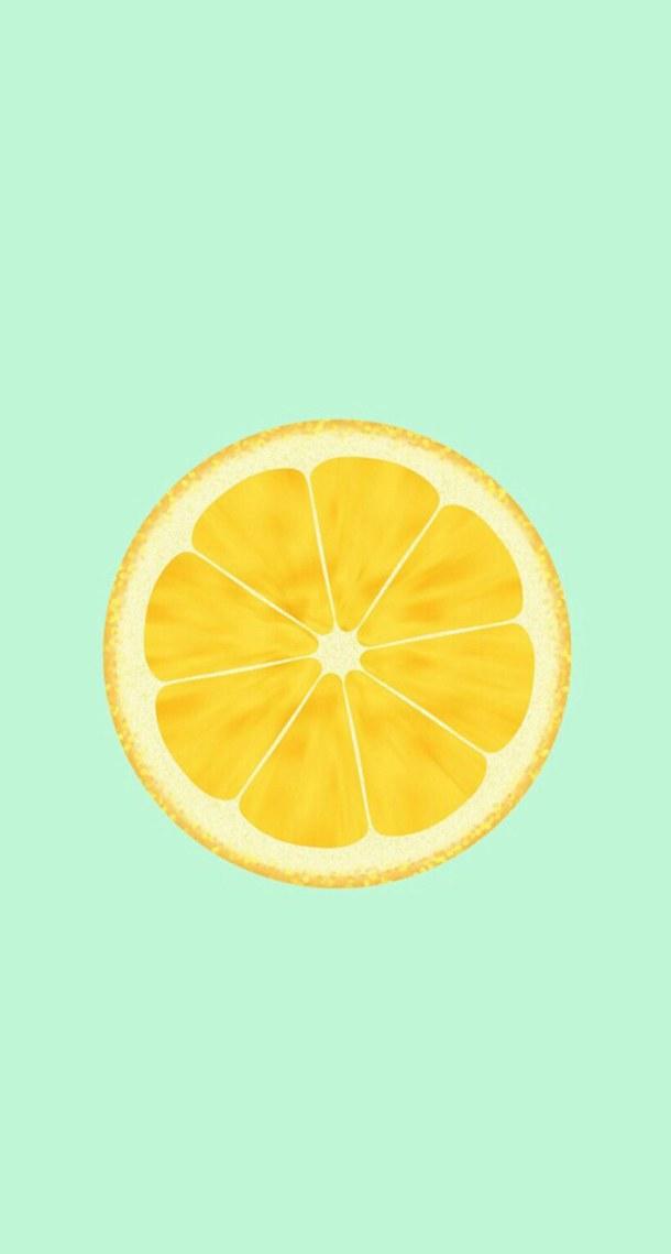 Lemon Pattern Wallpaper WallpaperSafari Amazing Pattern Wallpaper Iphone