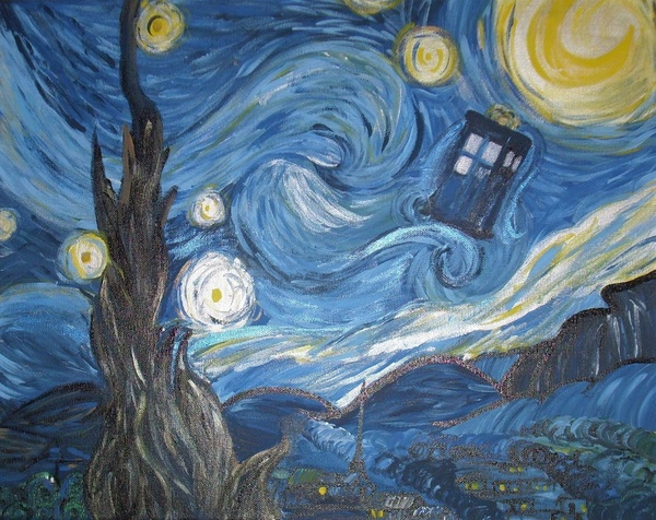 [50+] Doctor Who Starry Night Wallpaper On WallpaperSafari