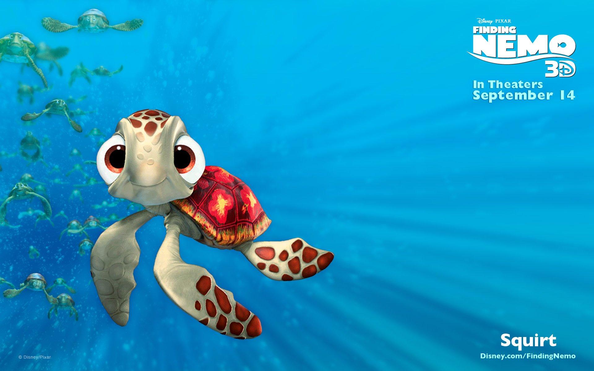 FINDING NEMO animation underwater sea ocean tropical fish adventure 1920x1200