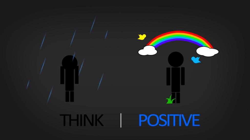 Think Positive Hd Wallpaper By Samuels Graphics On Deviantart 1024x576