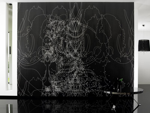 Amazing Black and White Wallpapers with Cool Patterns from Iris 500x375