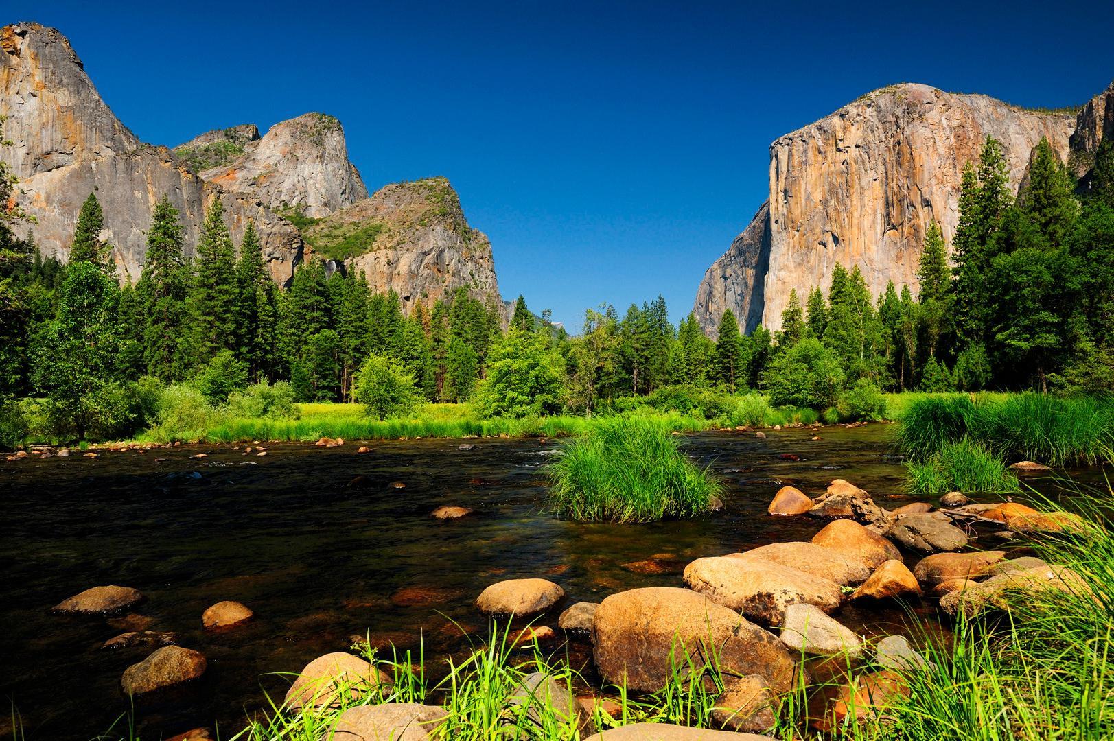 Yosemite Reflections HD Wallpaper 23206 Wallpaper Wallpaper hd 1623x1080