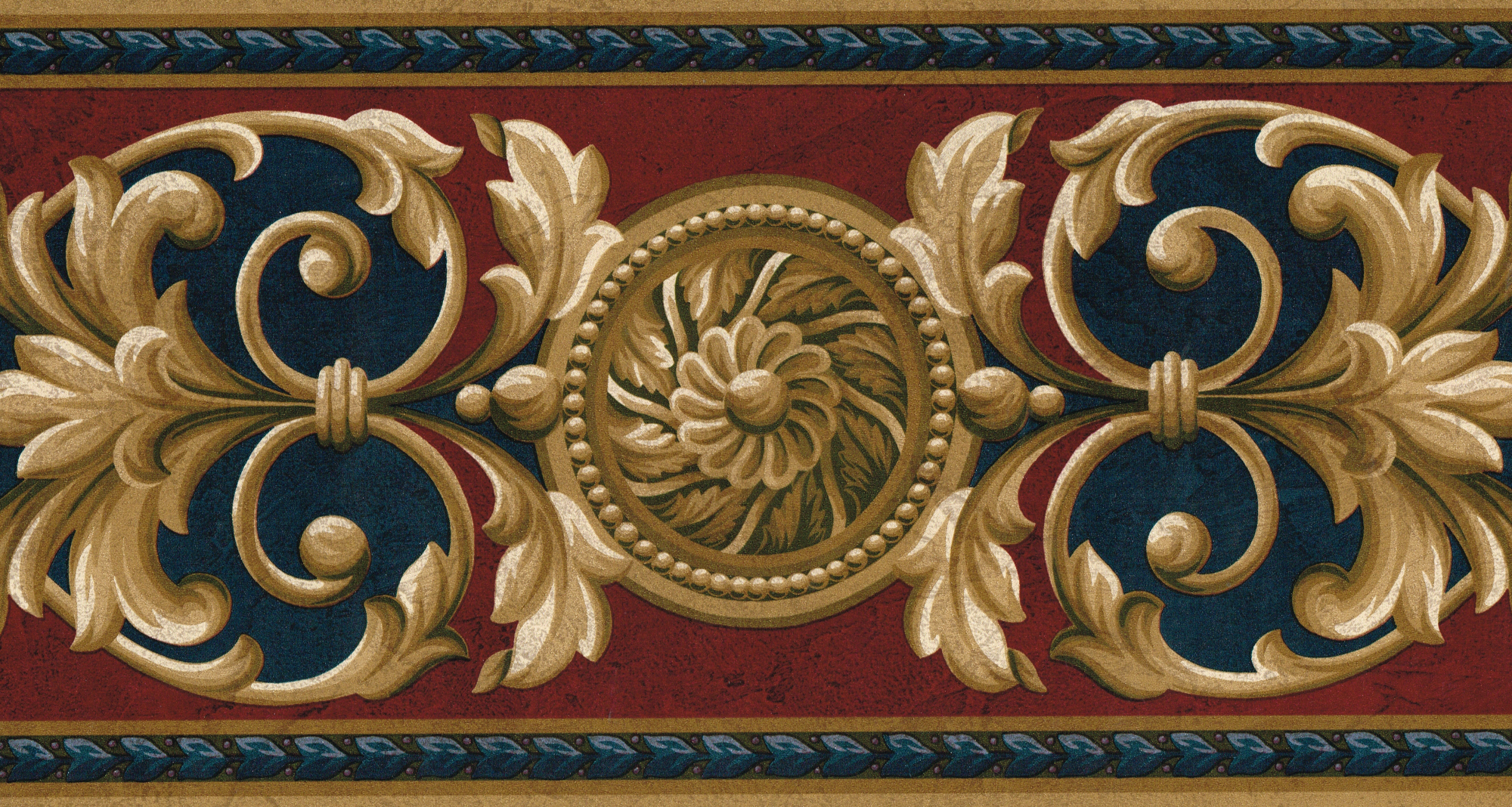 Victorian Wallpaper Pattern 2000x1068