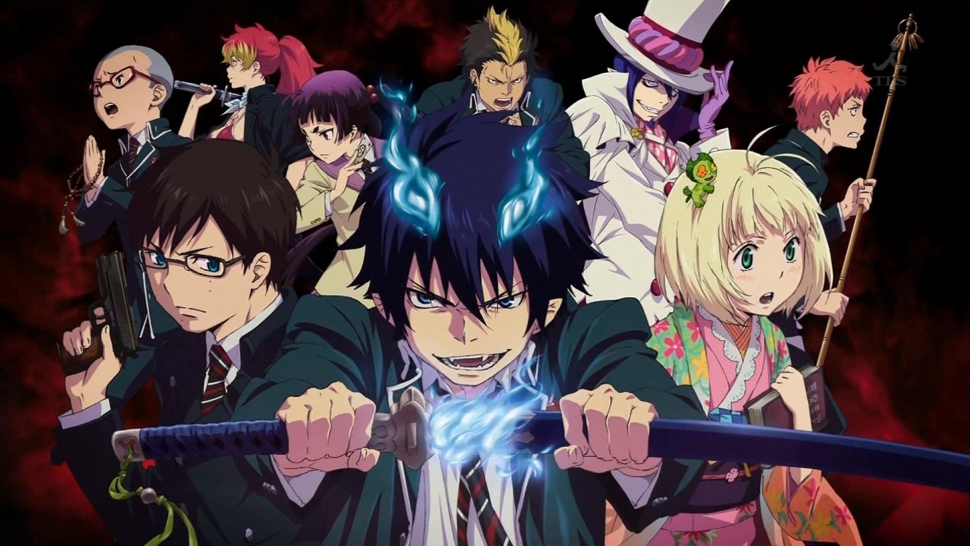 Blue Exorcist Wallpapers Batch 1 1920x1080