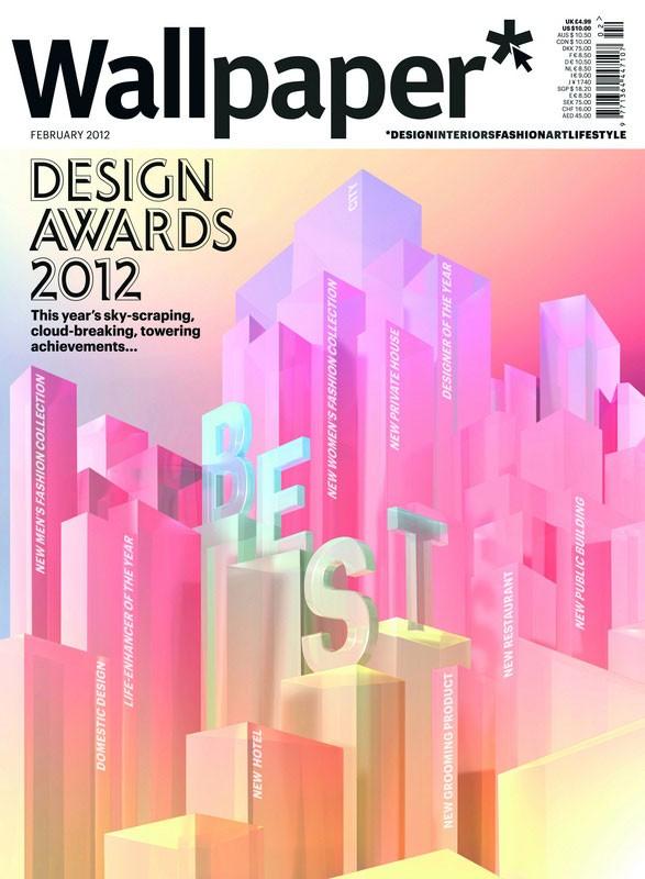 Wallpaper Design Awards 2012 pour Ralley et Villa Pura Nya Nordiska 587x800