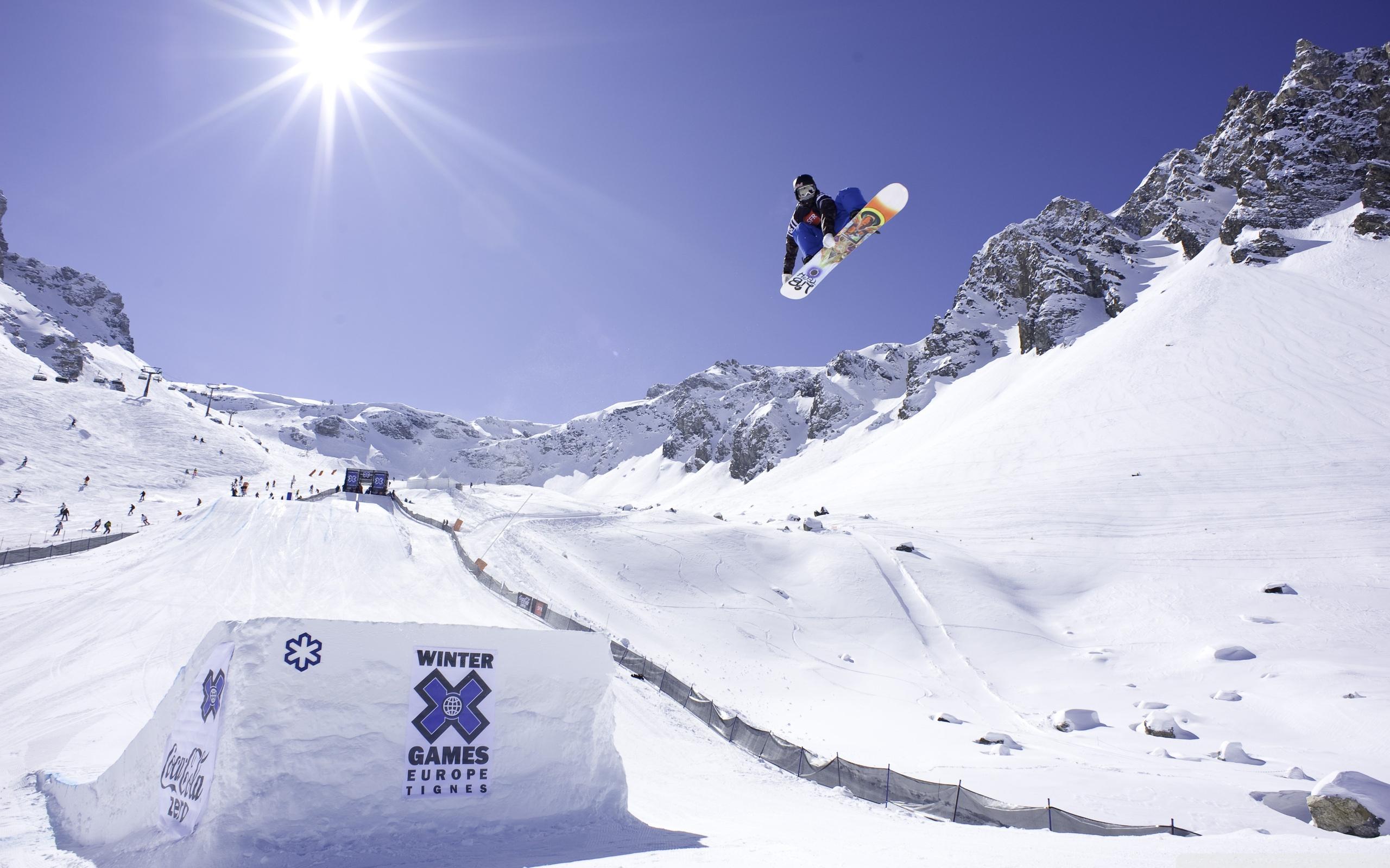 Winter Games Europe Tignes 4K HD Desktop Wallpaper for 4K Ultra 2560x1600
