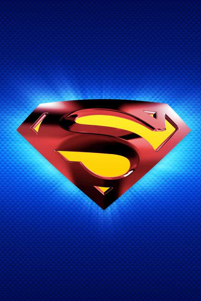 Iphone 4 Wallpapers Superman Logo Ipad Wallpapers Iphone 4 And 4015 639x959