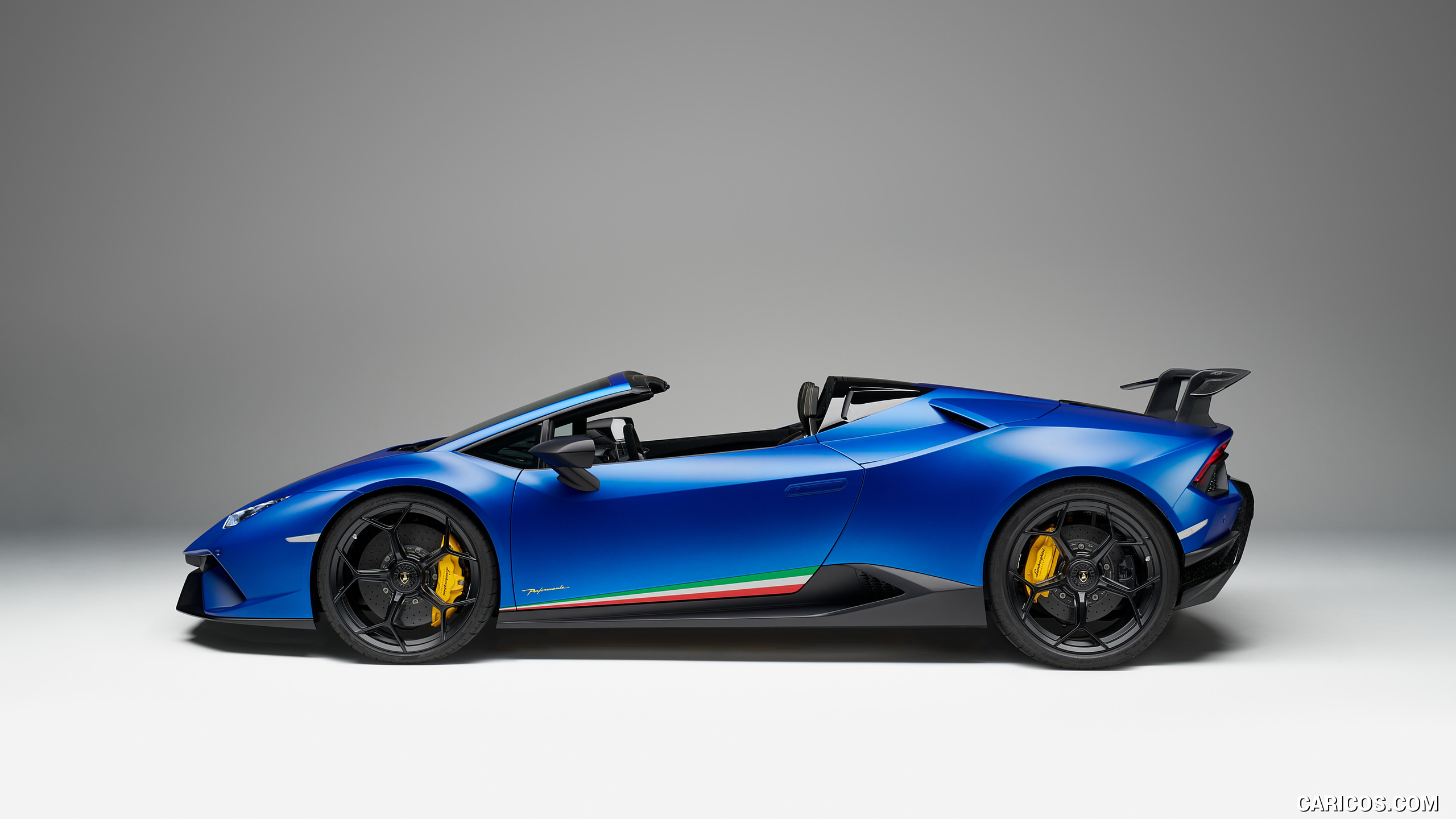 2019 Lamborghini Huracn Spyder Performante   Side HD Wallpaper 13 2560x1440