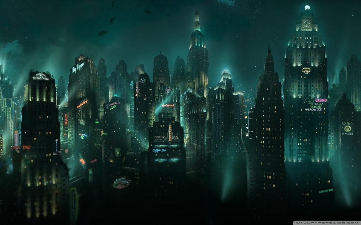 BioShock Rapture 4K HD Desktop Wallpaper for 4K Ultra HD TV 1152x720