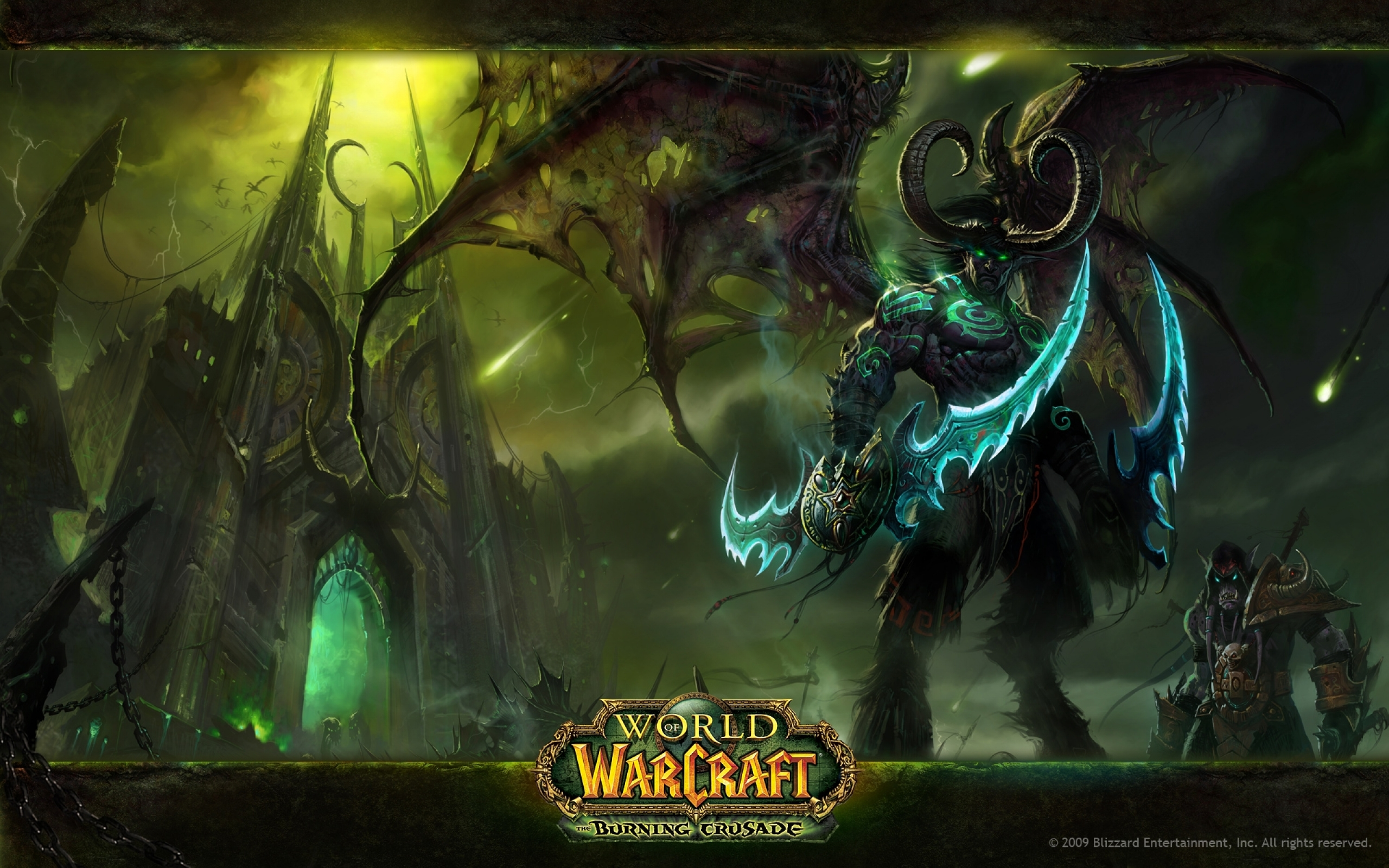 World Of Warcraft The Burning Crusade HD Wallpapers and 2560x1600