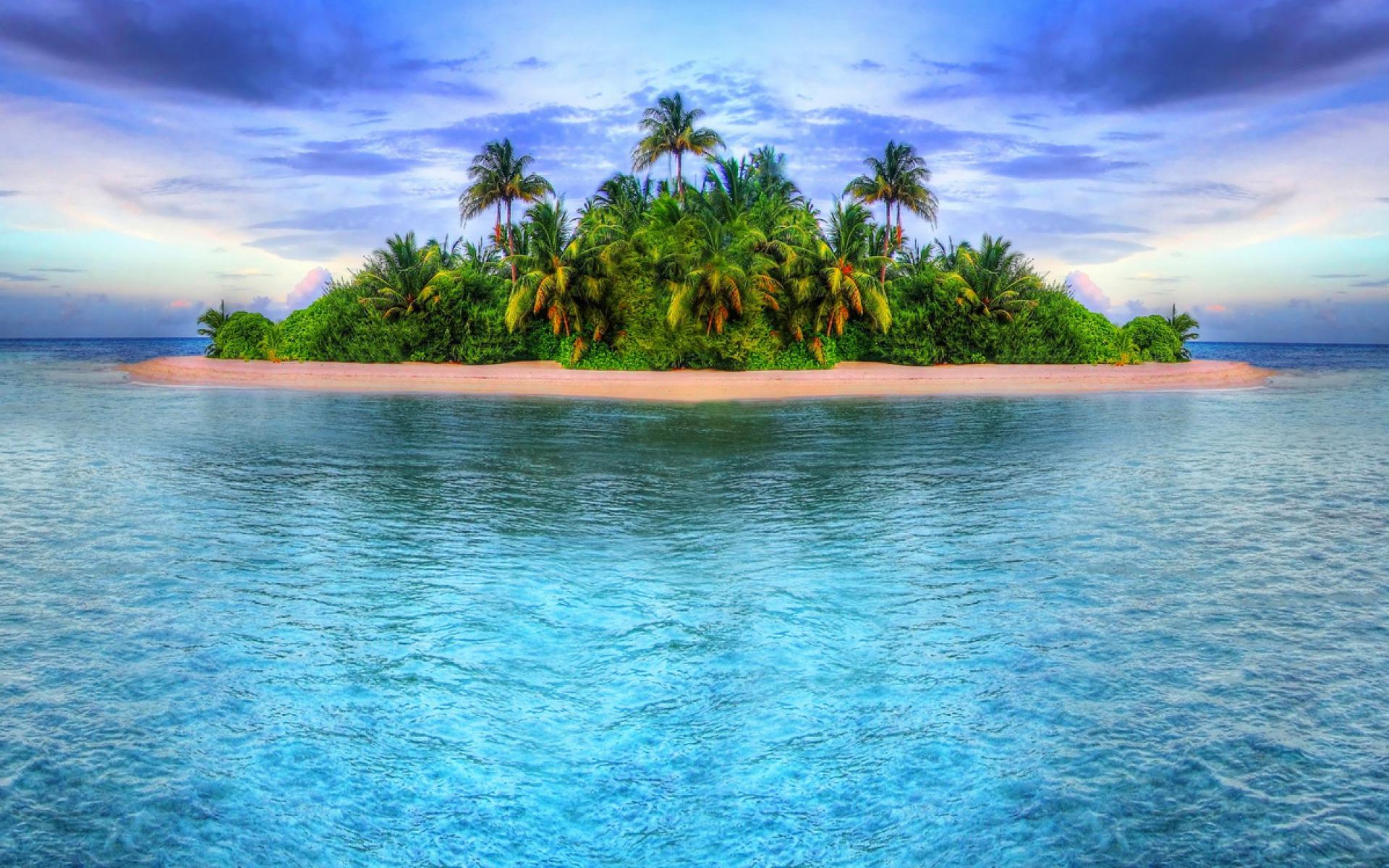 tropical islands wallpaper wallpapersafari. Black Bedroom Furniture Sets. Home Design Ideas