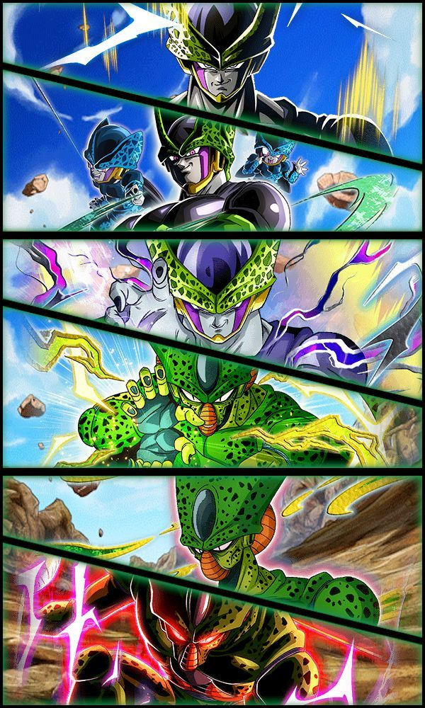 Cell Wallpaper 02 by Zeus2111 Dragon ball artwork 600x1000