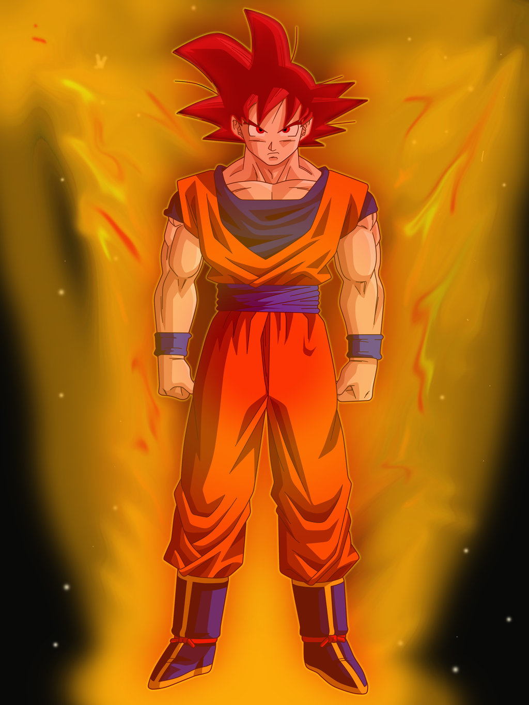 Free Download Goku Super Saiyan God Wallpaper Goku Super