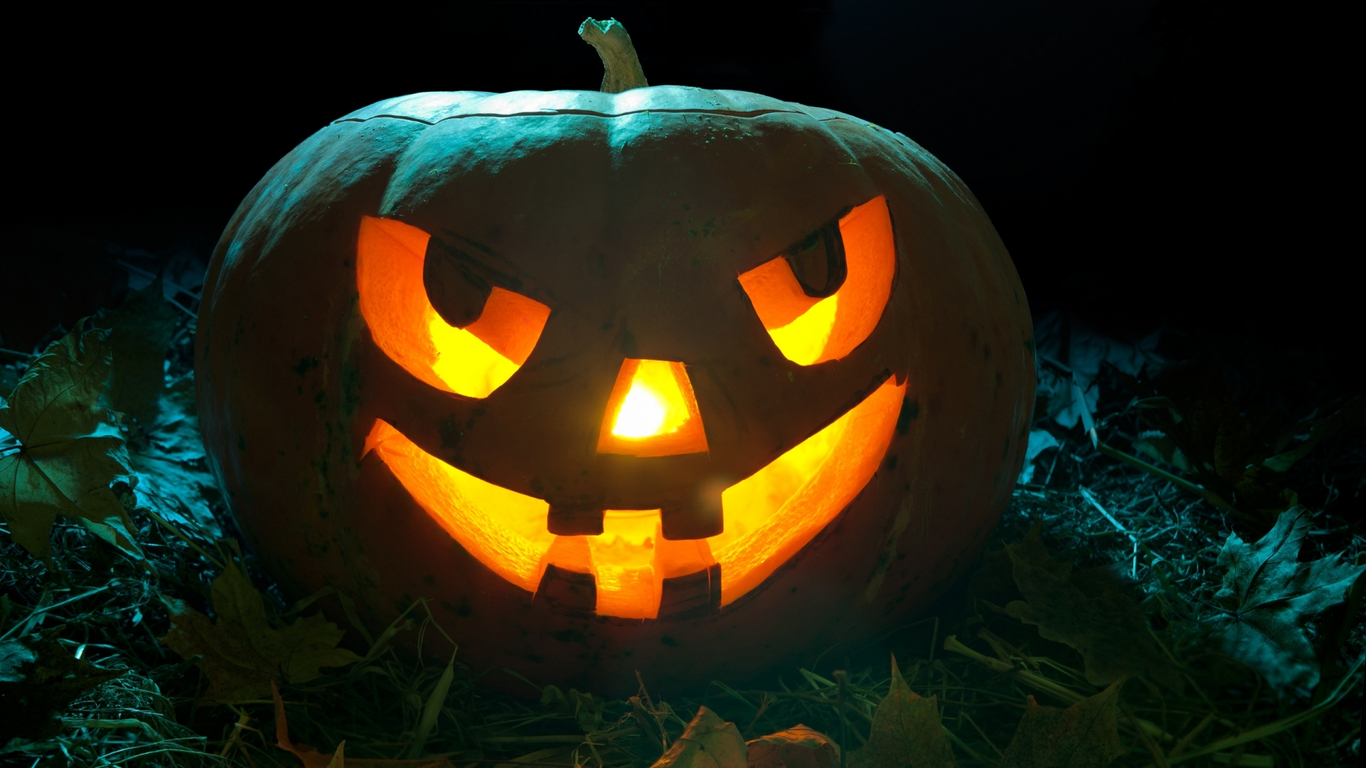 Scary Pumpkin   High Definition Wallpapers   HD wallpapers 1920x1080
