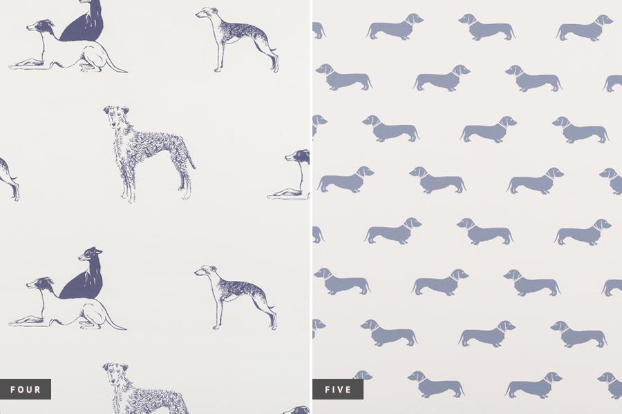 dog pattern wallpaper wallpapersafari