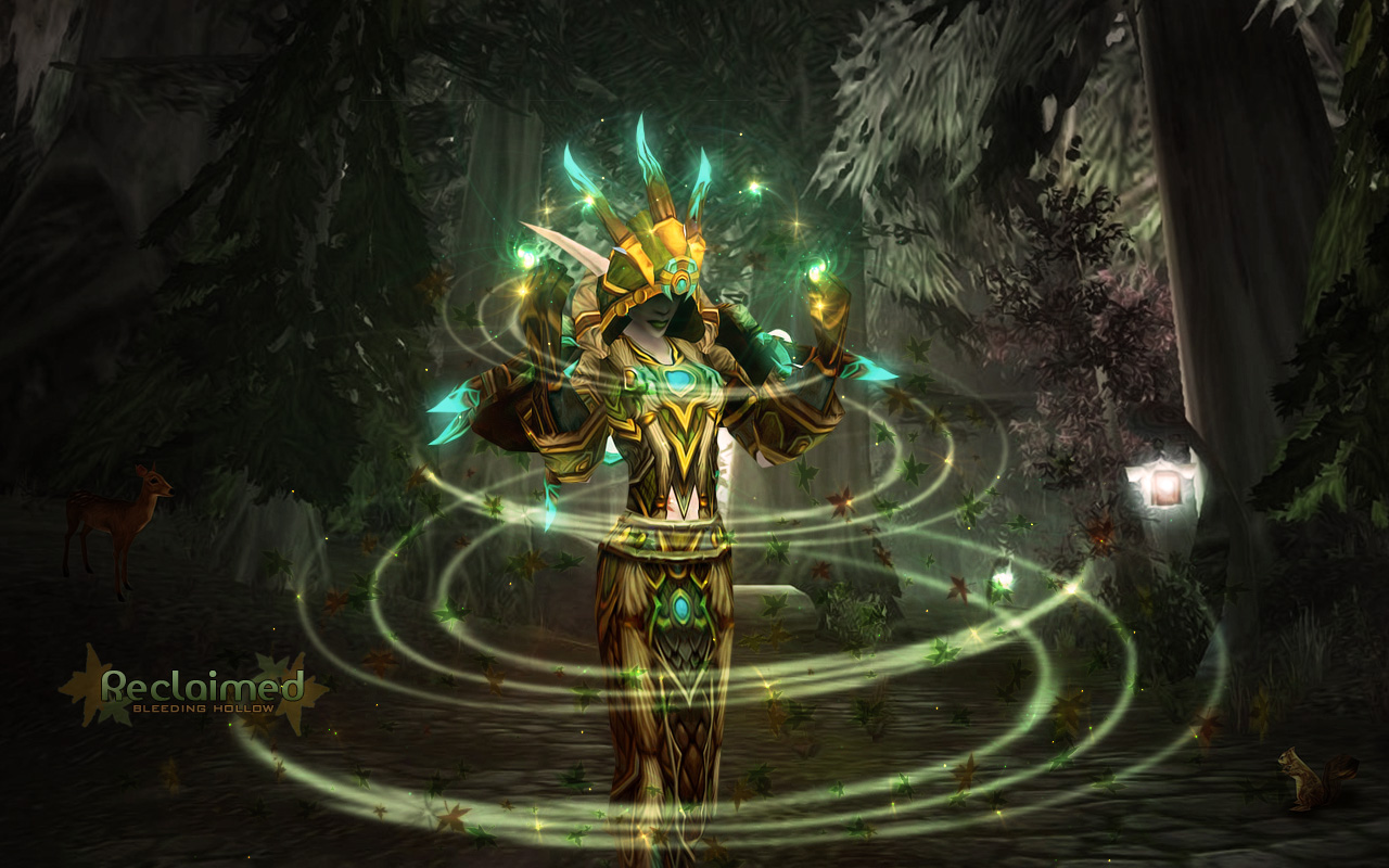 Free Download Druid Wow Background Viewing Gallery 1280x800 For