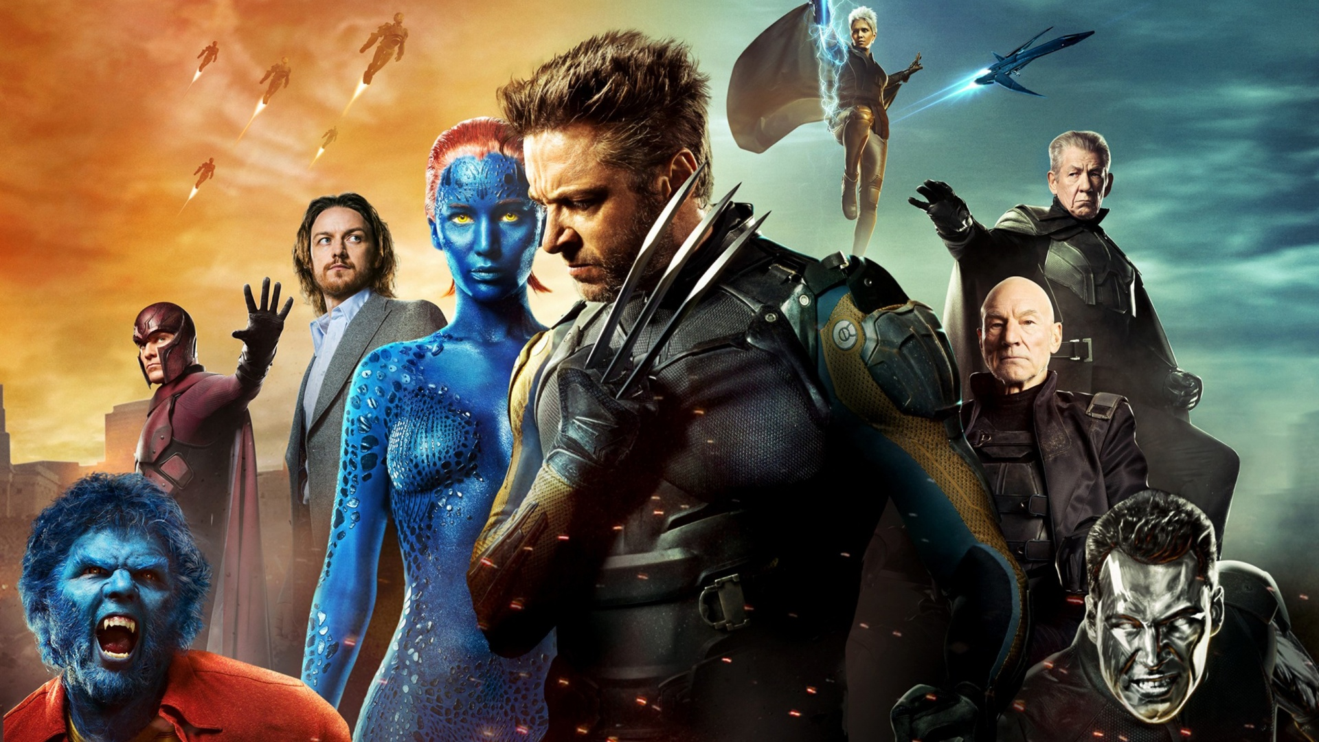 xmen days of future past   Marvel Live action Movies Wallpaper 1920x1080