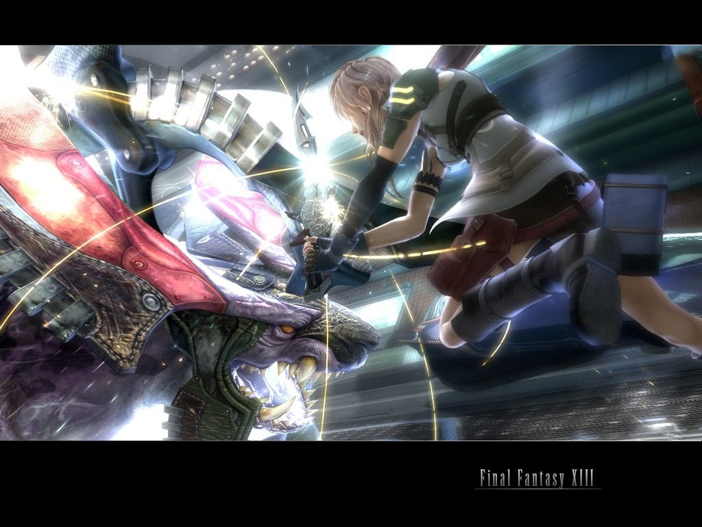 Wallpaper do dia Final Fantasy XIII 1024x768