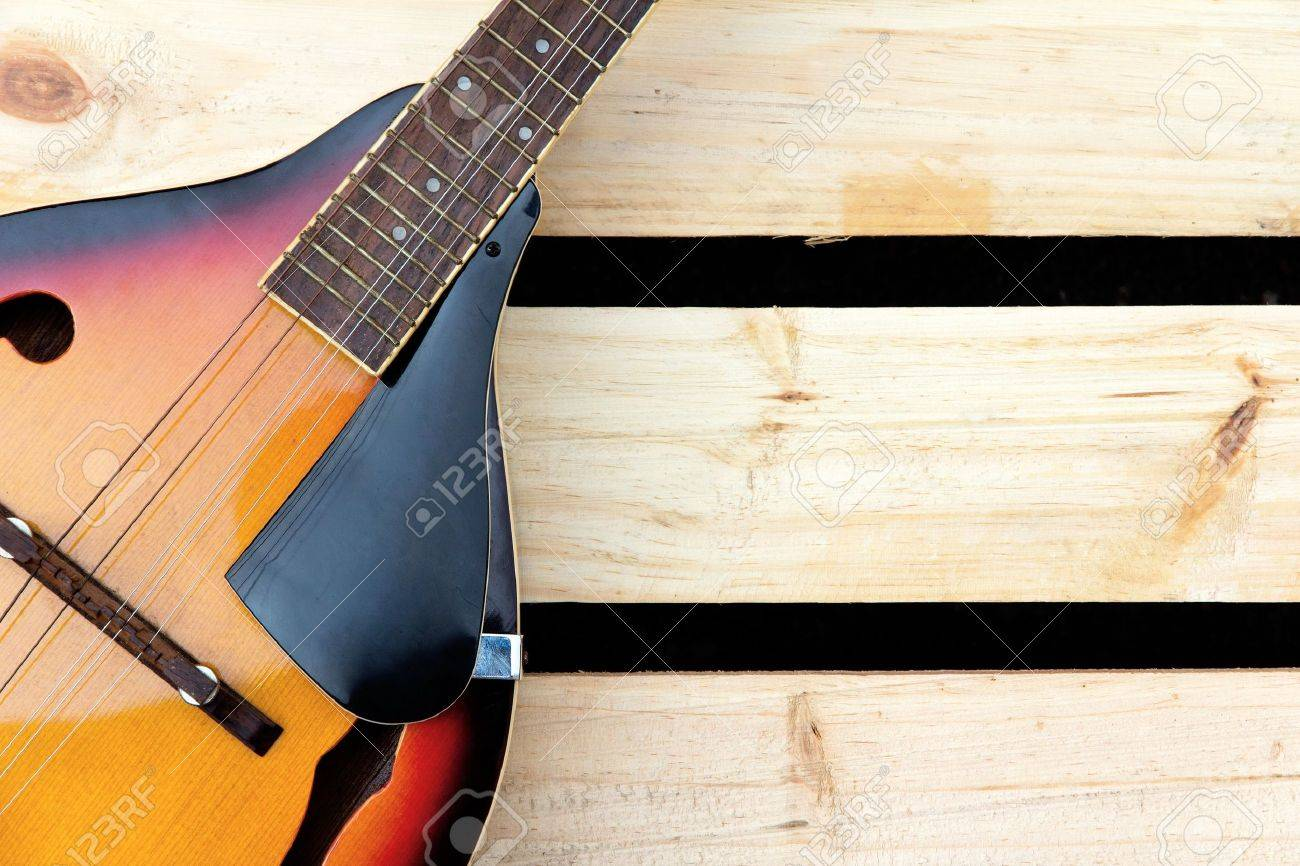 Mandolin Background Stock Photo Picture And Royalty Image 1300x866