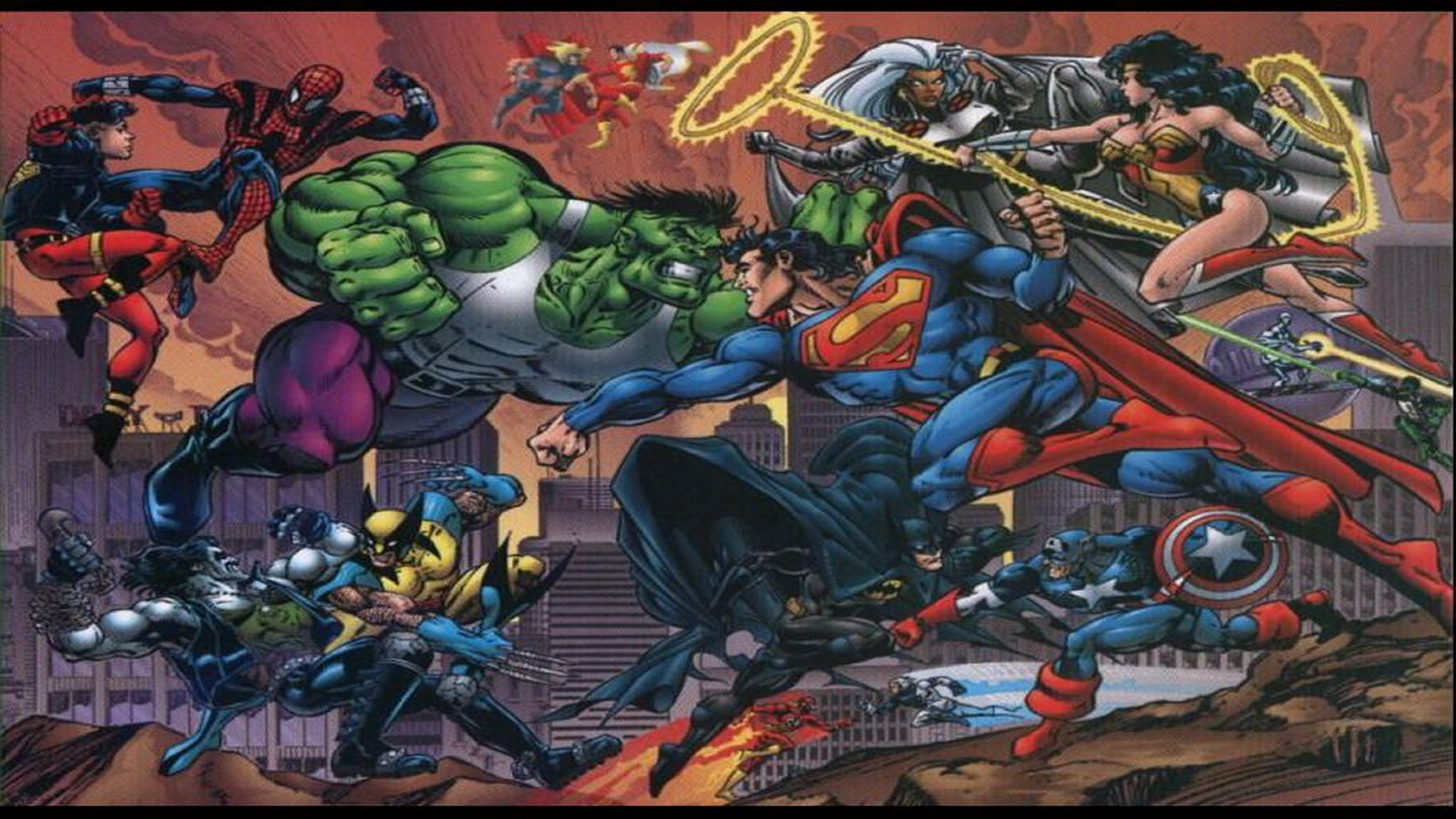 DC Comics Wallpapers DC vs Marvel dc comics 251200 1024 768 Pictures 1920x1080