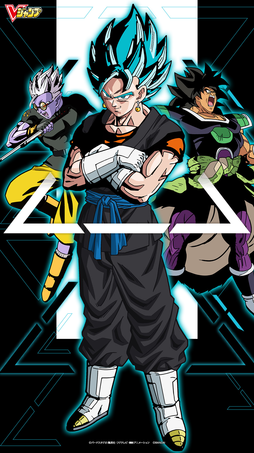 23 dragon ball super broly wallpapers on wallpapersafari - Dragon ball super wallpaper 1080x1920 ...