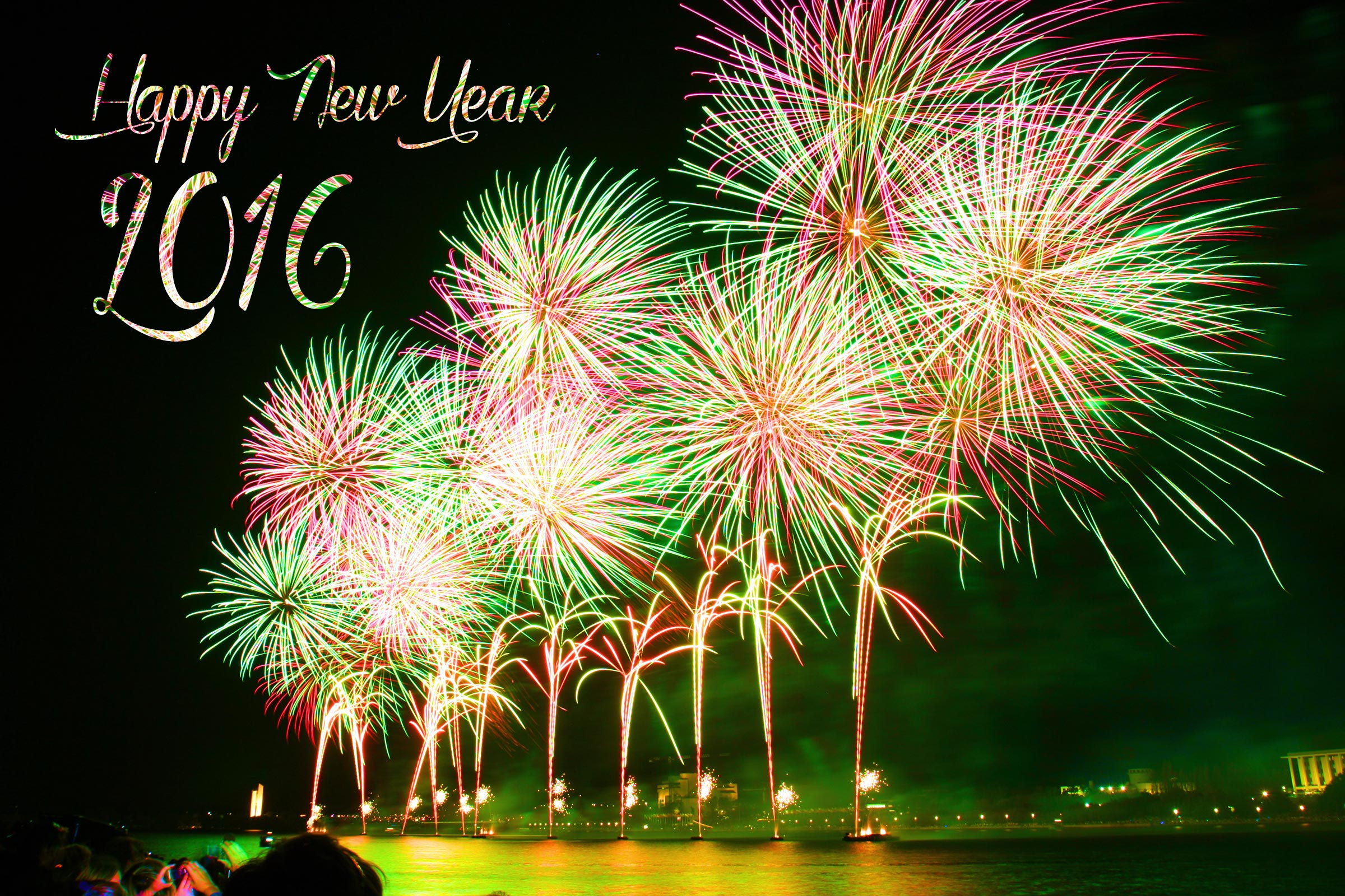 Happy New Year 2016 Wallpapers HD Images Facebook Cover photos 2400x1600