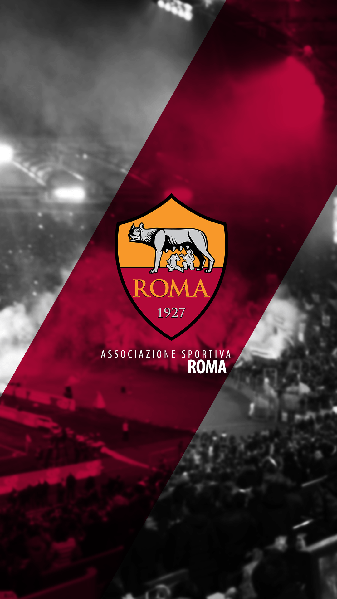 AS Roma Wallpapers 1080x1920