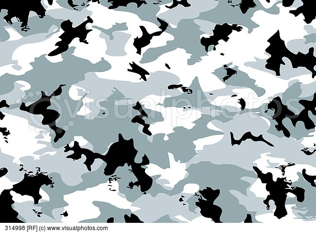 Camouflage Pattern Gray Black And White Colors Stock 650x482