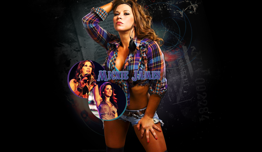 Mickie James Wallpaper by nerdynoeleen 900x522
