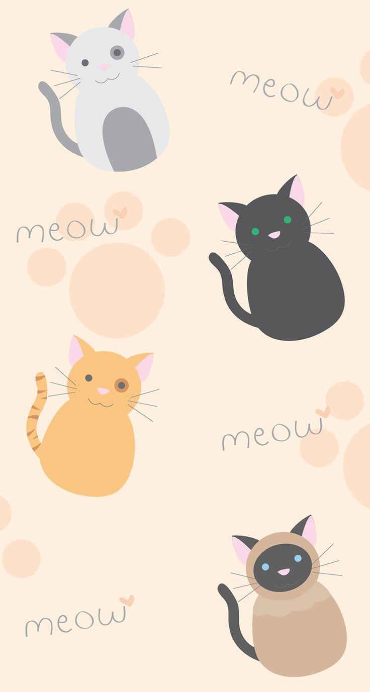 Pusheen The Cat Iphone Wallpaper Kawaii wallpaper iphone 736x1377