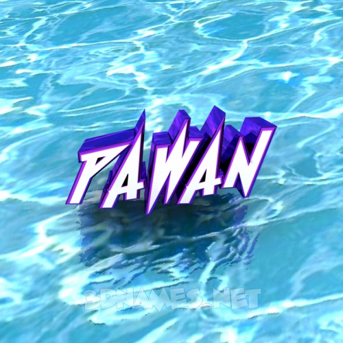 Free download 3D Name style Water