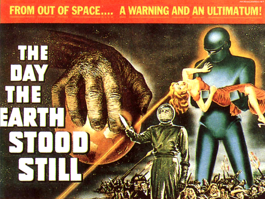 1950s Sci Fi Movie Poster Art 1024x768