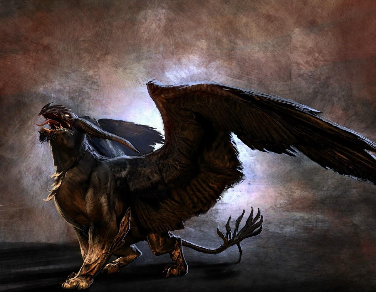 mythical creatures wallpaper wallpapersafari