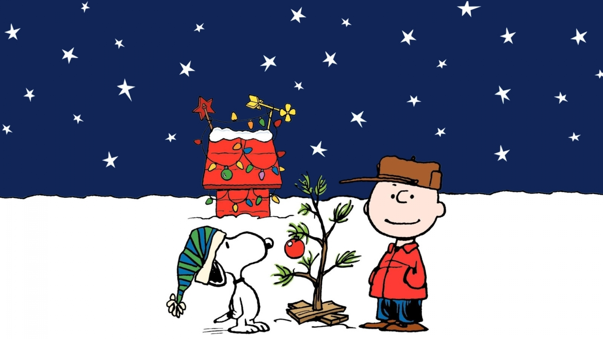 Peanuts Christmas Iphone Wallpaper Charlie brown peanuts 1920x1080