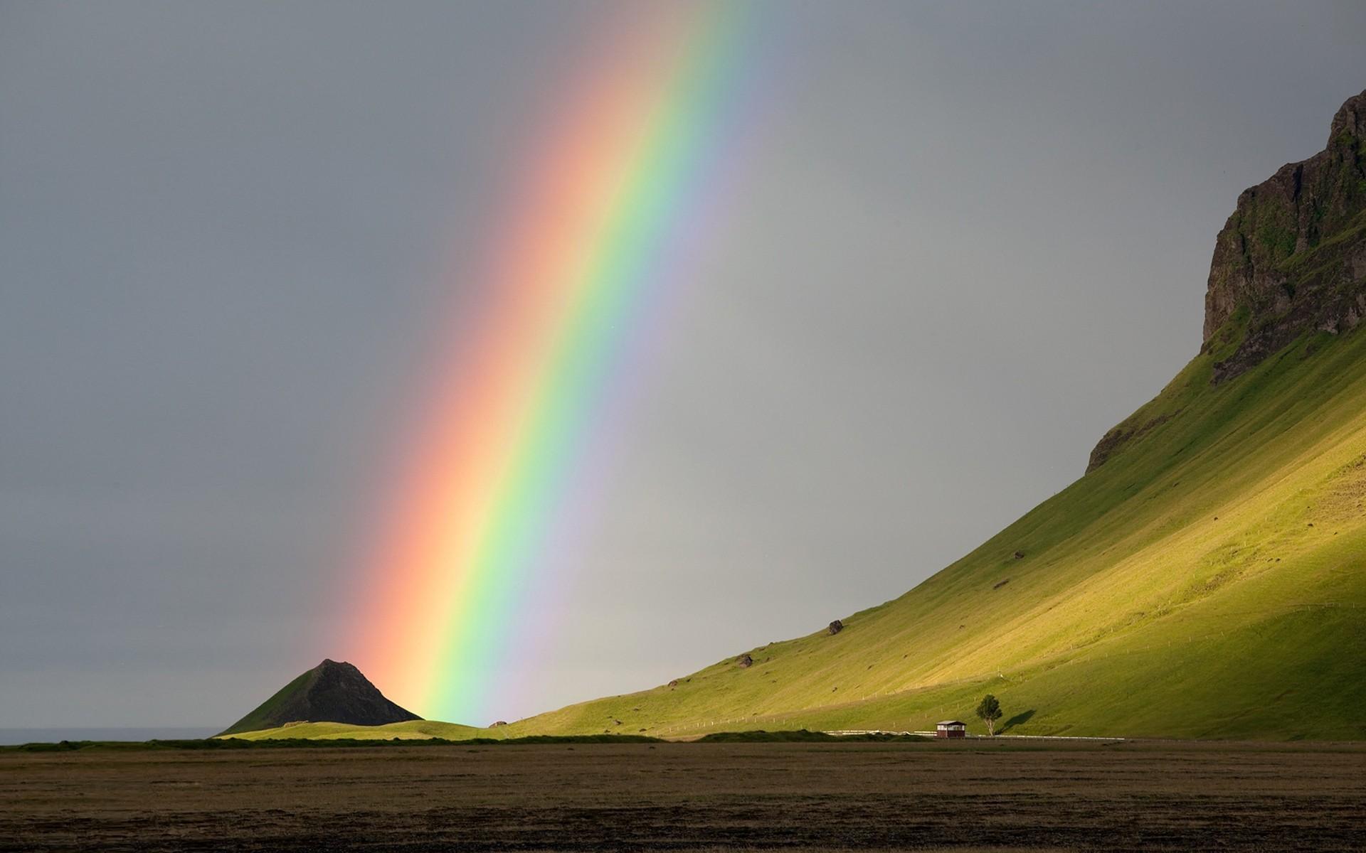 rainbow natural wallpapersafari