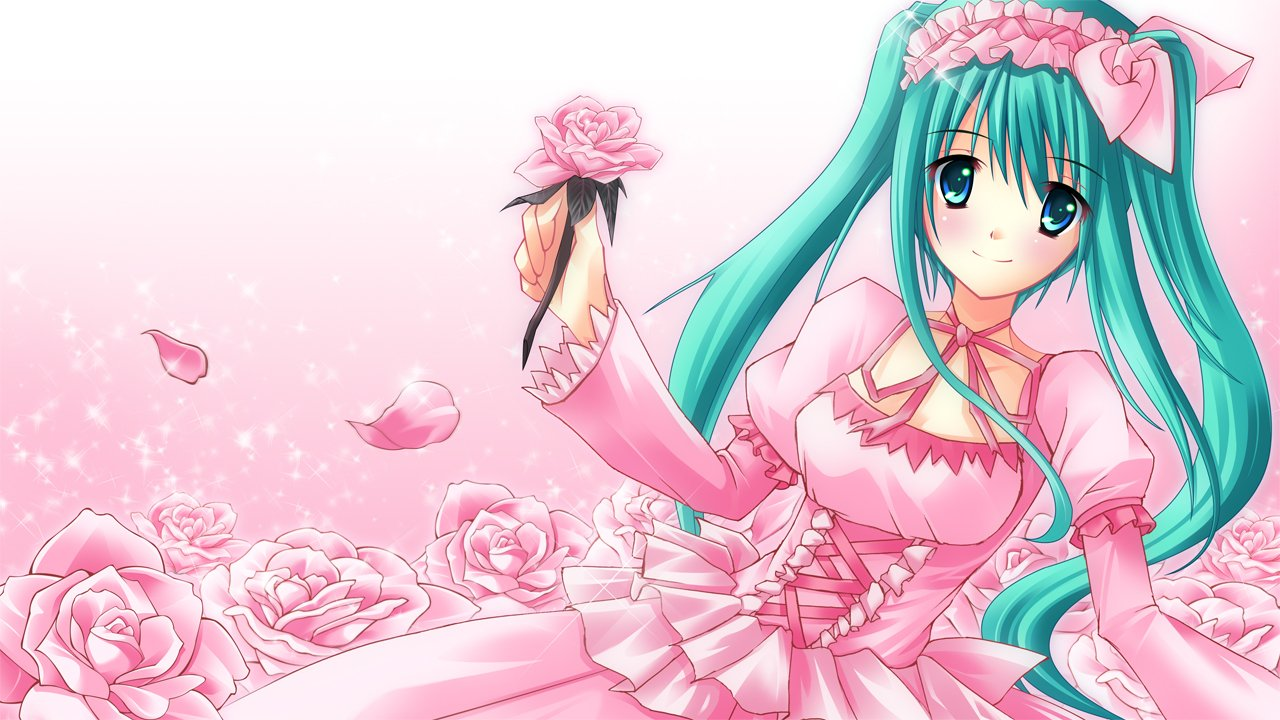 Cute Anime Girl Computer Wallpapers Desktop Backgrounds 1280x720 1280x720