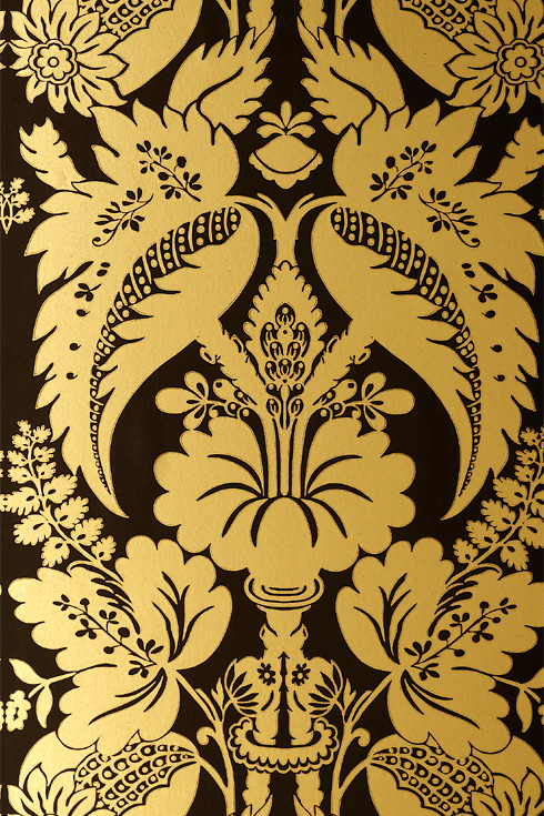Gold Wallpaper Black And Gold Wallpaper Designs 490x735