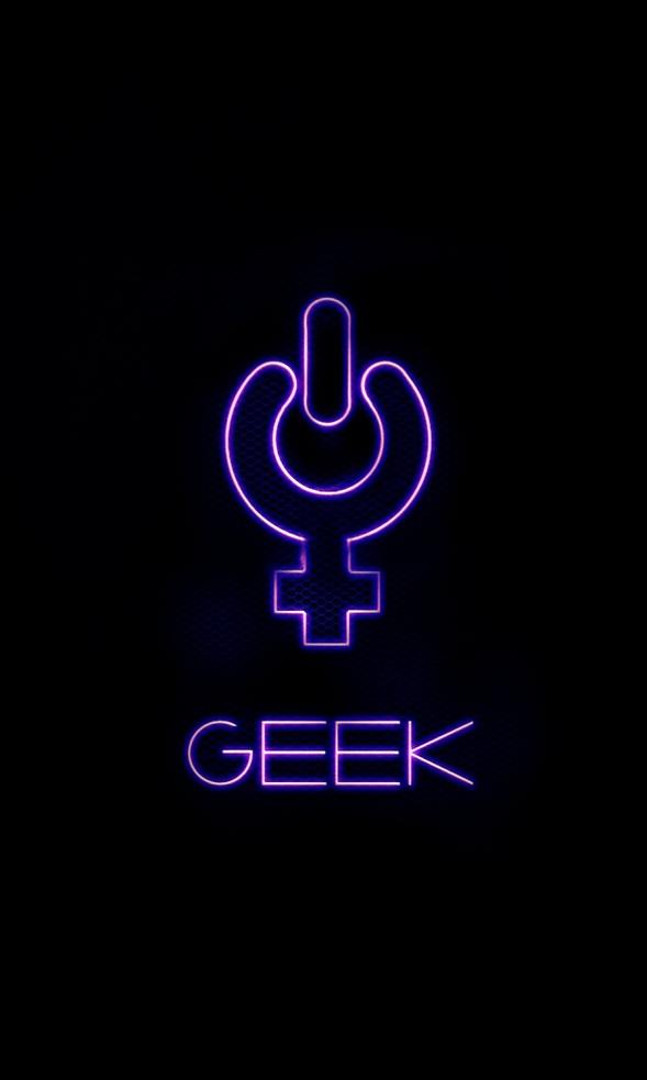 Geek Girl Wallpaper - WallpaperSafari