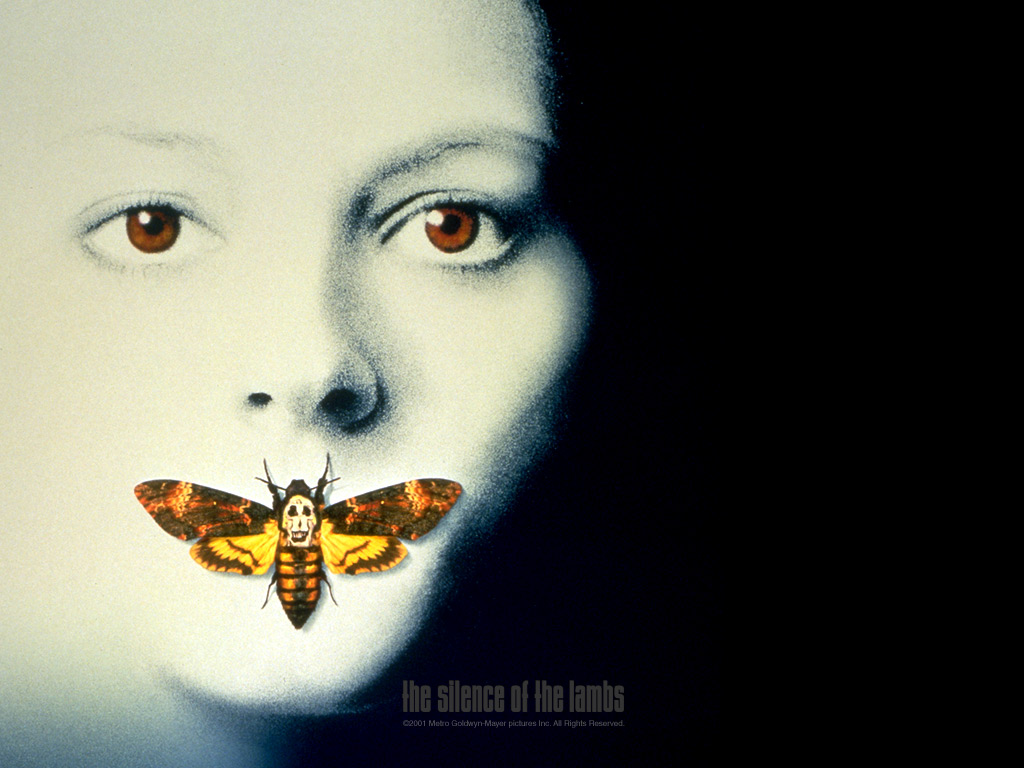 The Silence of the Lambs   Horror Movies Wallpaper 77528 1024x768