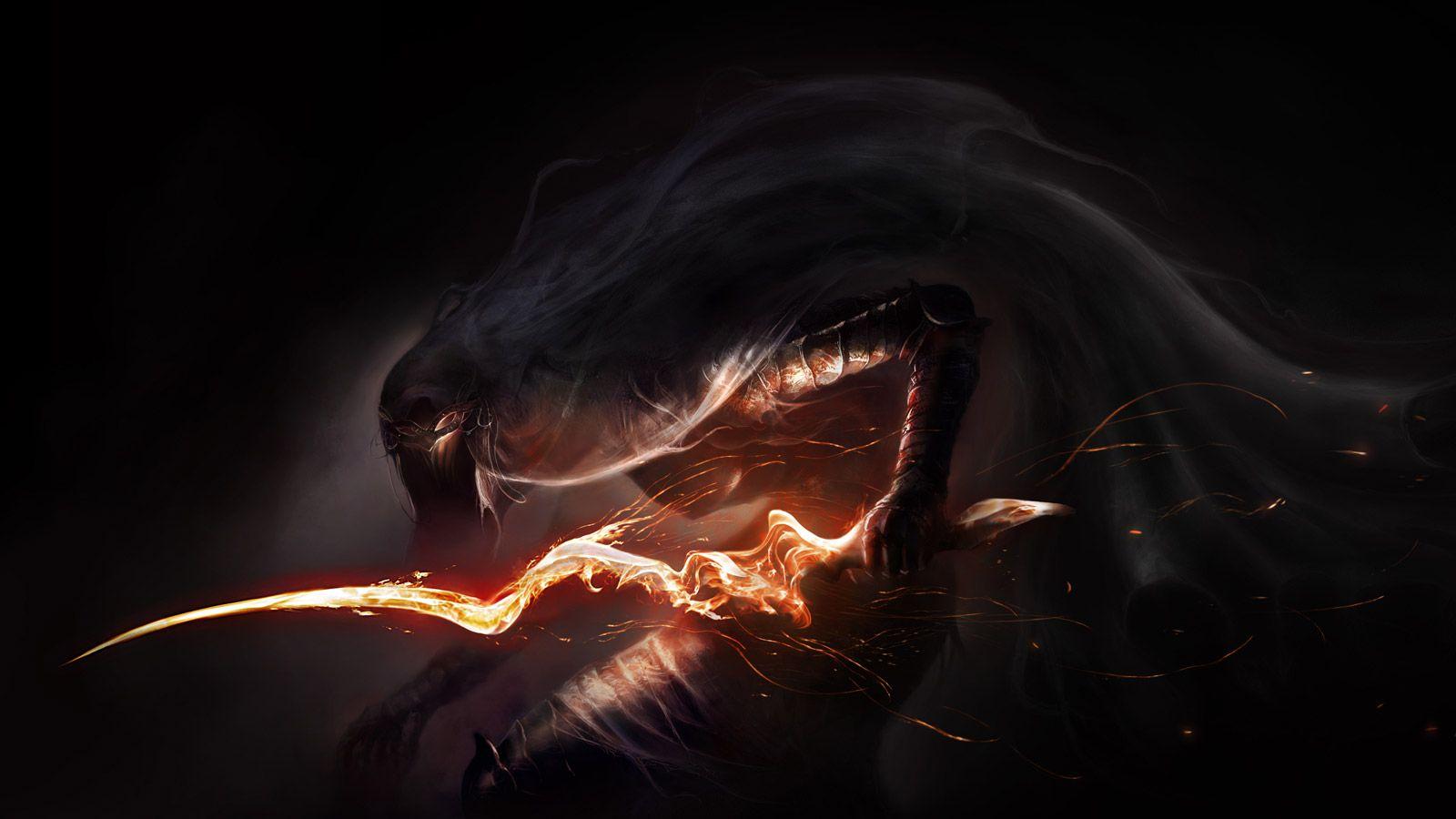 Dark Souls 3 Monster HD Wallpaper 1600x900