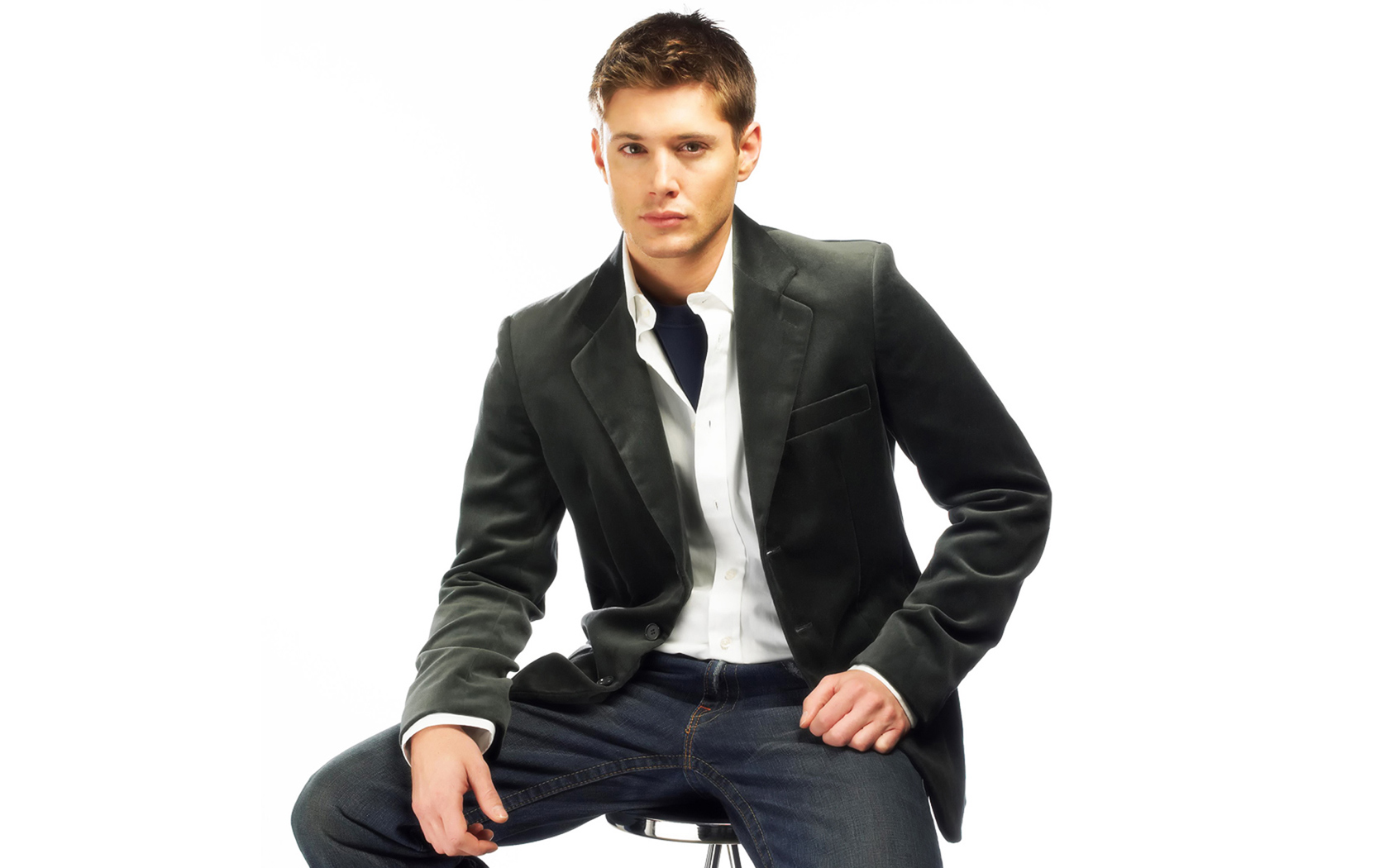 Ackles Handsome Men computer desktop wallpapers pictures images 1680x1050