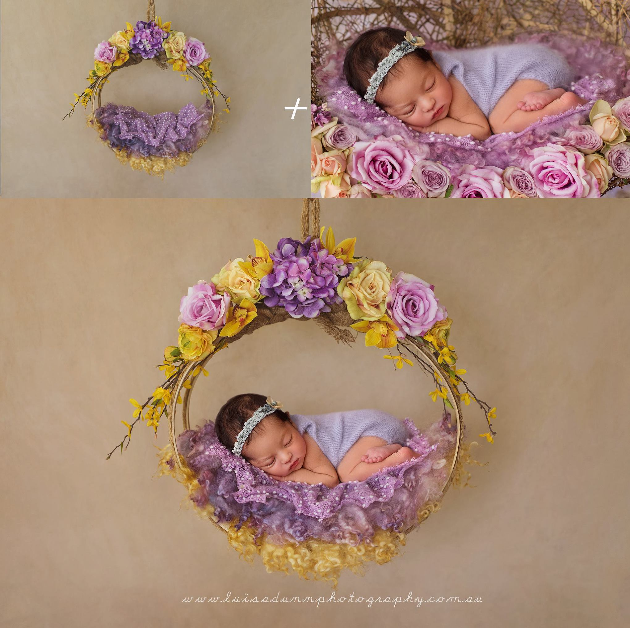 Newborn Digital Backgrounds Photoshop Templates For Photography 2040x2032