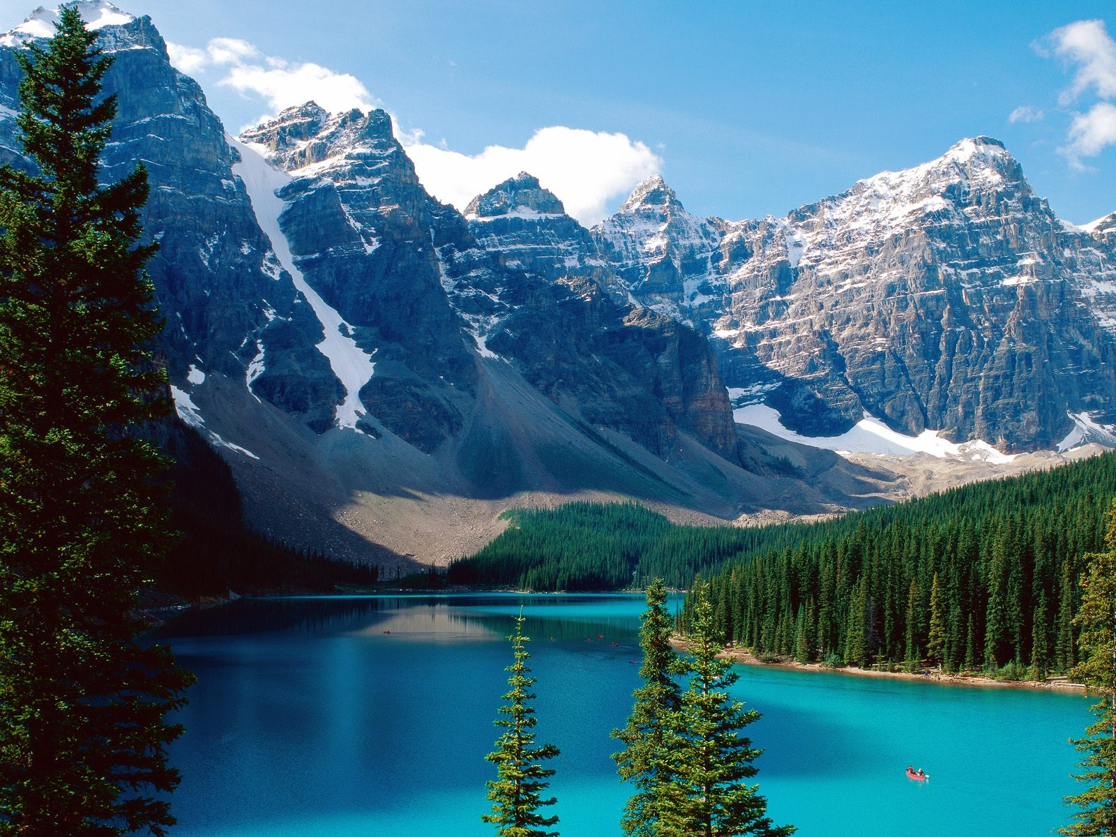 Banff National Park Canada wallpaper Moraine Lake Banff National Park 1600x1200