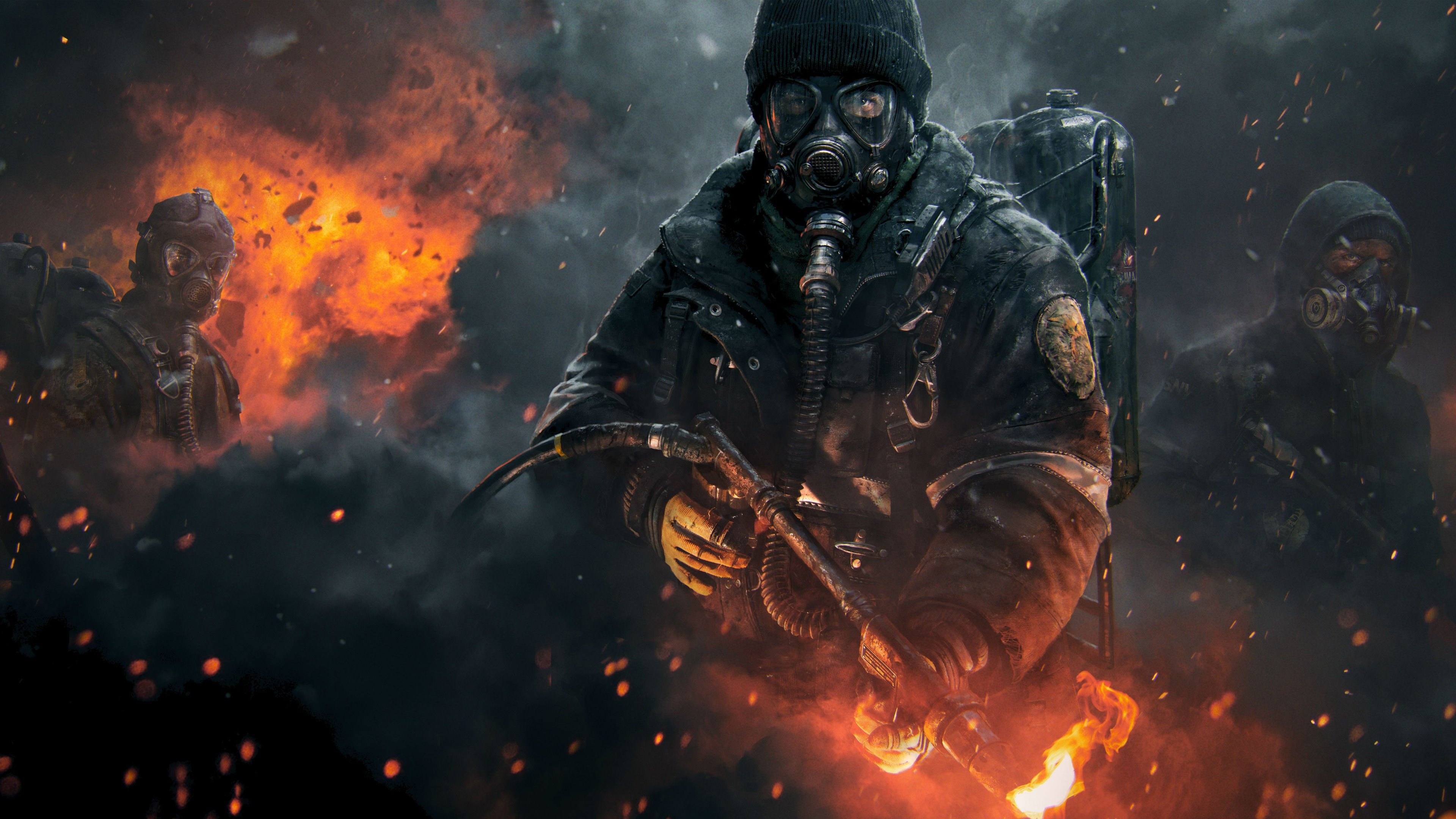 Tom Clancys The Division Wallpapers HD Wallpapers 3840x2160