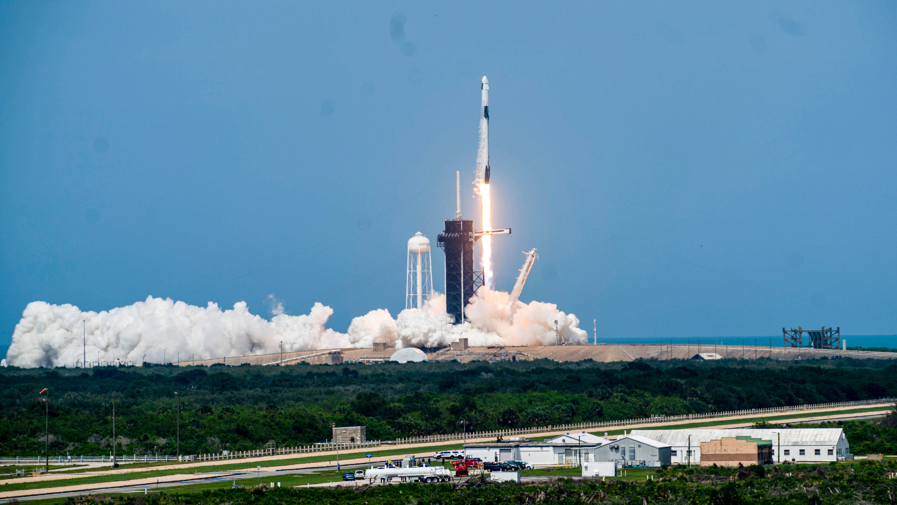 SpaceX Launch Highlights From NASA Astronauts Trip to Orbit 3000x1688