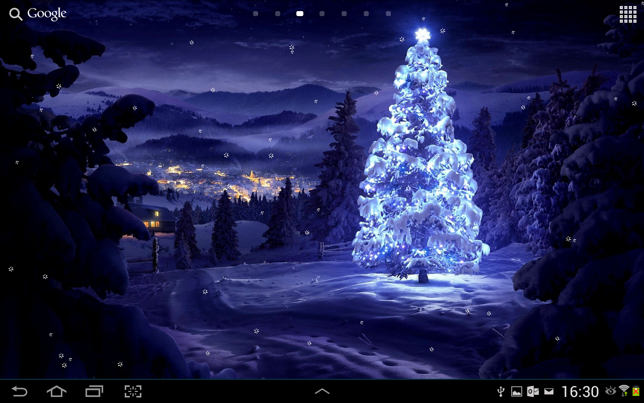 Freapp   Live Wallpaper Christmas Wallpaper Christmas Live 1280x800